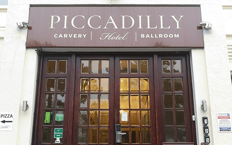 Piccadilly Hotel Entrance